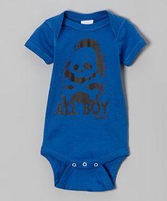 Royal 'All Boy' Bodysuit - Infant
