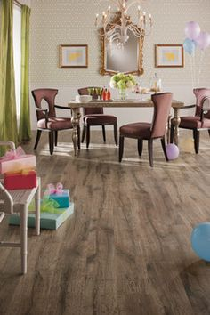Quick Step Reclaimé™ - Heathered Oak - UF1517 - traditional - dining room
