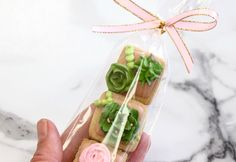 Experimenting with packaging on these delicious Succulent Cookies! How good do these look??