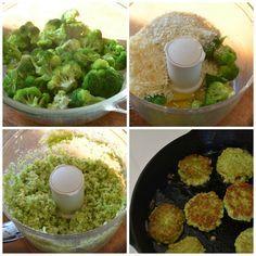 Cheesy broccoli bites - Can lower PHE (similar to my eggplant balls)
