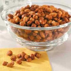 BBQ nuts (I am trying with pecans or almonds)