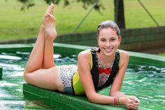 Série: Sereias do Nado Sincronizado Modelo: Loane Chiaretto Tigrinho Equipe de Nado Sincronizado da UTFPR Curitiba - Paraná