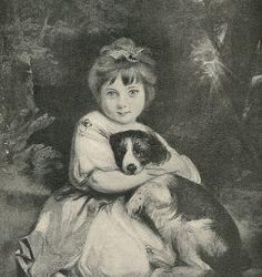 1914 Love Me Love My Dog Joshua Reynolds  by HeatherwoodArtPrints, $8.50