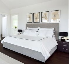 Nice Deco Chambre Peinte En Blanc that you must know, You?re in good company if you?re looking for Deco Chambre Peinte En Blanc Contemporary Bedroom, Modern Bedroom, White Bedroom, Bedroom Decor, Simple Bedrooms, 1950s Bedroom, Bedroom Ideas, Light Bedroom, Bedroom Ceiling