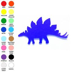 Dinosaur Cut Outs And Paper To Do