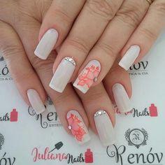 Fabulous Nails, Perfect Nails, Finger, Elegant Nails, Beautiful Nail Art, French Nails, Nail Inspo, Love Nails, Manicure And Pedicure