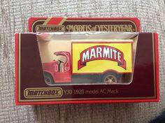 Marmite Van Matchbox. 1920 Model AC Mack Number 17 Of 250 | eBay Marmite, Advertising, Van, Number, Vehicles, Model, Vans, Scale Model