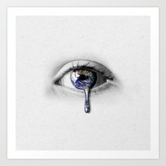 The world from my eyes Art Print by Kim Wilson Creative. Worldwide shipping available at Society6.com. Just one of millions of high quality products available.