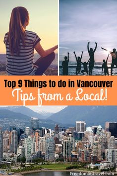Do you know the 9 best things to do in Vancouver that only the insider's know? If you're in Vancouver in the Spring Summer Winter or Fall you need to know the non-touristy things to do in Gastown or if it's raining or with kids. Great Vacation Spots, Great Vacations, Summer Vacations, Travel Usa, Columbia Travel, Travel Tips, British Columbia, Travel Ideas, Quebec