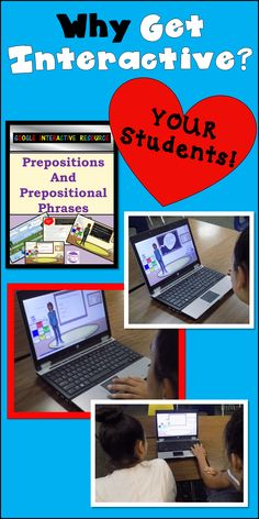 My students LOVE when I assign an activity using Google. This resource walks them through prepositions and prepositional phrases. There are activities and quick checks within the resource. Grammar Practice, Grammar And Punctuation, Teaching Grammar, Teaching Tips, Grammar Activities, English Language, Language Arts, Prepositional Phrases, Thing 1
