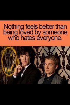 Awwww I love this Sherlock always&forever