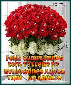 Amiga Estas Rosas Son Para Ti A Frases En Espanol Christmas
