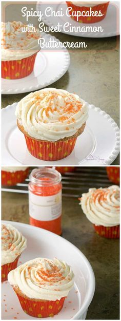 Spicy Chai Cupcakes...