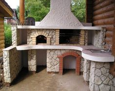 Barbecue smokers - do I need one if I have a charcoal grill? Pizza Oven Outdoor, Outdoor Cooking, Outdoor Fire, Outdoor Living, Outdoor Decor, Pergola, Gazebo, Parrilla Exterior, Barbecue Design