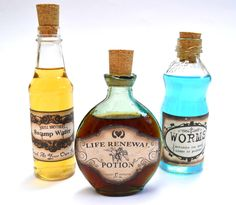 I make the potions all drinkable booze