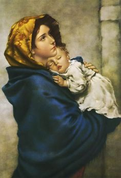 Madonna of the Streets Print Mother Of Christ, Mother Art, Blessed Mother Mary, Blessed Virgin Mary, Mother Mary Images, Images Of Mary, Pictures Of Mary, Dove Pictures, Catholic Art
