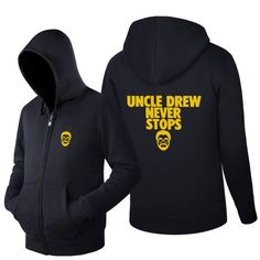>> Click to Buy << 2016 Printed Sweatshirt novelty Kyrie Irving Hoodies men's uncle Drew Zipper mens TracksuitLong-sleeve coats #Affiliate