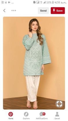 Stitching Styles Of Pakistani Dresses Aqua Blue Kurta Pakistani Fashion Casual, Pakistani Dresses Casual, Pakistani Dress Design, Indian Fashion, Casual Dresses, Punjabi Fashion, Casual Wear, Designer Party Wear Dresses, Indian Designer Outfits