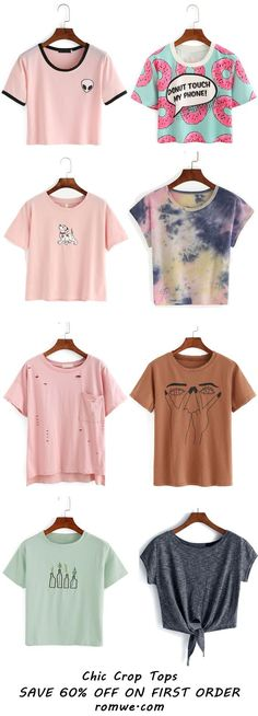 Crop Tops Collection - romwe.com
