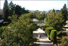 Jardines fe Sabatini, junto al Palacio Real, en Madrid (España)