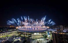 Veja fotos da cerimônia de abertura dos Jogos Olímpicos - Foto: Getty Images