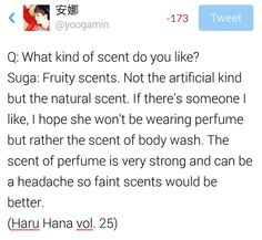 BTS interview - Haru Hana Vol 5  --- Suga
