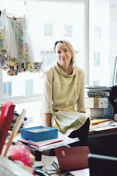 Lucinda Chambers The Fashion Director Of Vogue At Her Home In