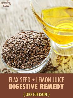 Doctor Oz said to try this drink in the morning to really start up your metabolism and to help with digestion all day long. http://www.pantryspa.com/health-remedies/body-remedies/dr-oz-lemon-juice-flaxseed-recipe-stomach-digestive-remedy/