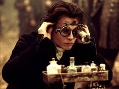 Steam punk Johnny Depp- Ichabod, perhaps the man that started it all?