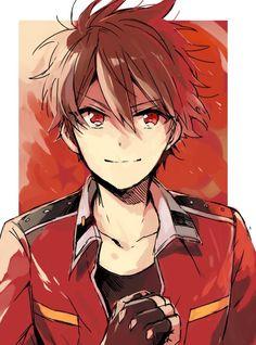 Anime Demon Boy, Dark Anime Guys, Cool Anime Guys, Handsome Anime Guys, Cute Anime Boy, Cute Anime Couples, Boboiboy Anime, Kawaii Anime, Anime Art