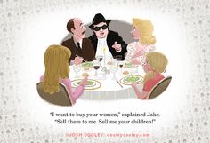 Blues Brothers by Josh Cooley .  One of the scenes my parents and I constantly quote!