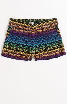 pacsun-Kirra challis print shorts $24.50