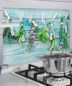 Look at this #zulilyfind! Herb Kitchen Wall Decal #zulilyfinds