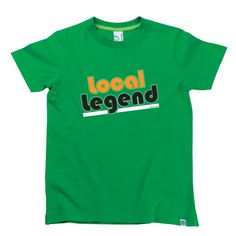 Local Legend Kids T-Shirt by Hairy Baby Local Legends, Happy Kids, Cool Tees, Cool Stuff, Mens Tops, Baby, T Shirt, Happy Children, Supreme T Shirt