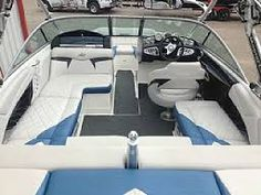 Related image Ski Boats, Boat Seats, Boat Interior, Fishing Boats, Boating, Skiing, Black And White, Image, Bowrider