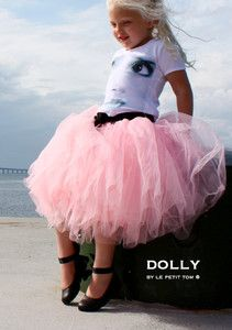 DOLLY by Le Petit Tom ® ROMANTIC LONG TUTU 1-3, 3-6L