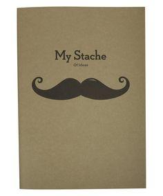 My Stache Notebook | Stationery | Liberty.co.uk
