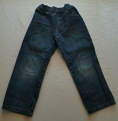Wrangler Boys Relaxed Blue Jeans Size 4T #backtoschool