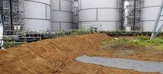 Detectan fugas de agua radiactiva en Fukushima a causa de un tifón