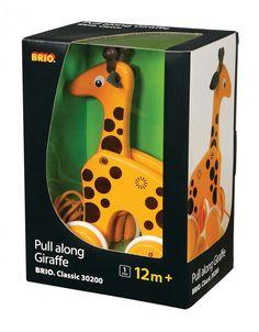BRIO Pull-Along Giraffe - Kids Scandinavian Shop