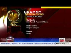 This years Grammy nominations 2014