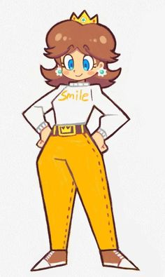 Daisy In Casual wear | Super Mario | Know Your Meme