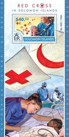 Post stamp Solomon Islands SLM 15317 bRed Cross in Solomon Islands