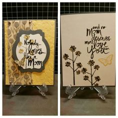 Mother's Love Stampin' Up