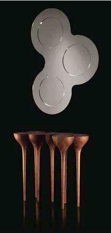 By Paco Camus - ODISSEY Mirror & ESGRIMAS console
