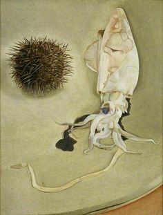 Lucian Freud - Still Life with Squid and Sea Urchin, 1949