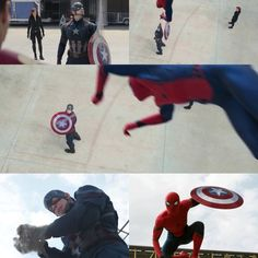 Peter Parker ( Tom Holland) Captain America Civil War