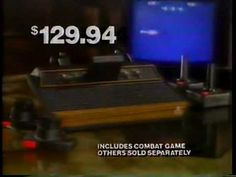 Atari 1982 Kmart Commercial 1982 Kmart commercial for the Atari game system