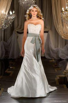 Strapless duchess silk satin trumpet gown with sweetheart neckline