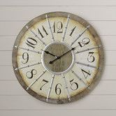 """Found it at Wayfair - Dolores Oversized 23"""" Louvre Large Wall Clock"""